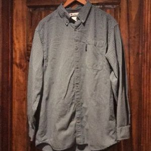 EUC Columbia large button down shirt
